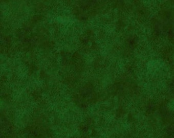 118'' Fabriquilt Green Leather Texture Look Wide Backing by the Yard