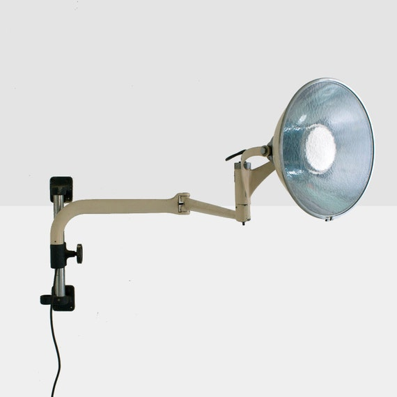 Vintage Wilmot Castle Medical Lamp Wall Mounted Surgical