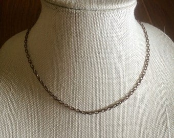 Brown Metal Chain - Magnetic Clasp