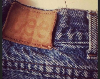 Vintage LEE Cut Off Jean Shorts