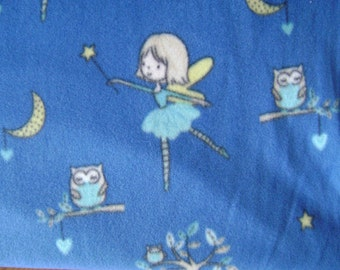 Anti-Pill Flying Fairy Fleece Fabric Sold by the Yard