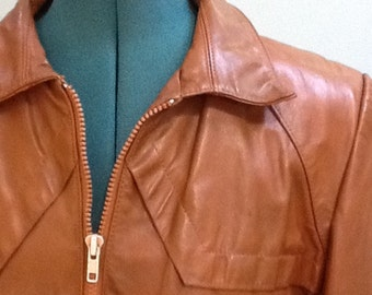 70's Jackets,Size 40 ~ Leather