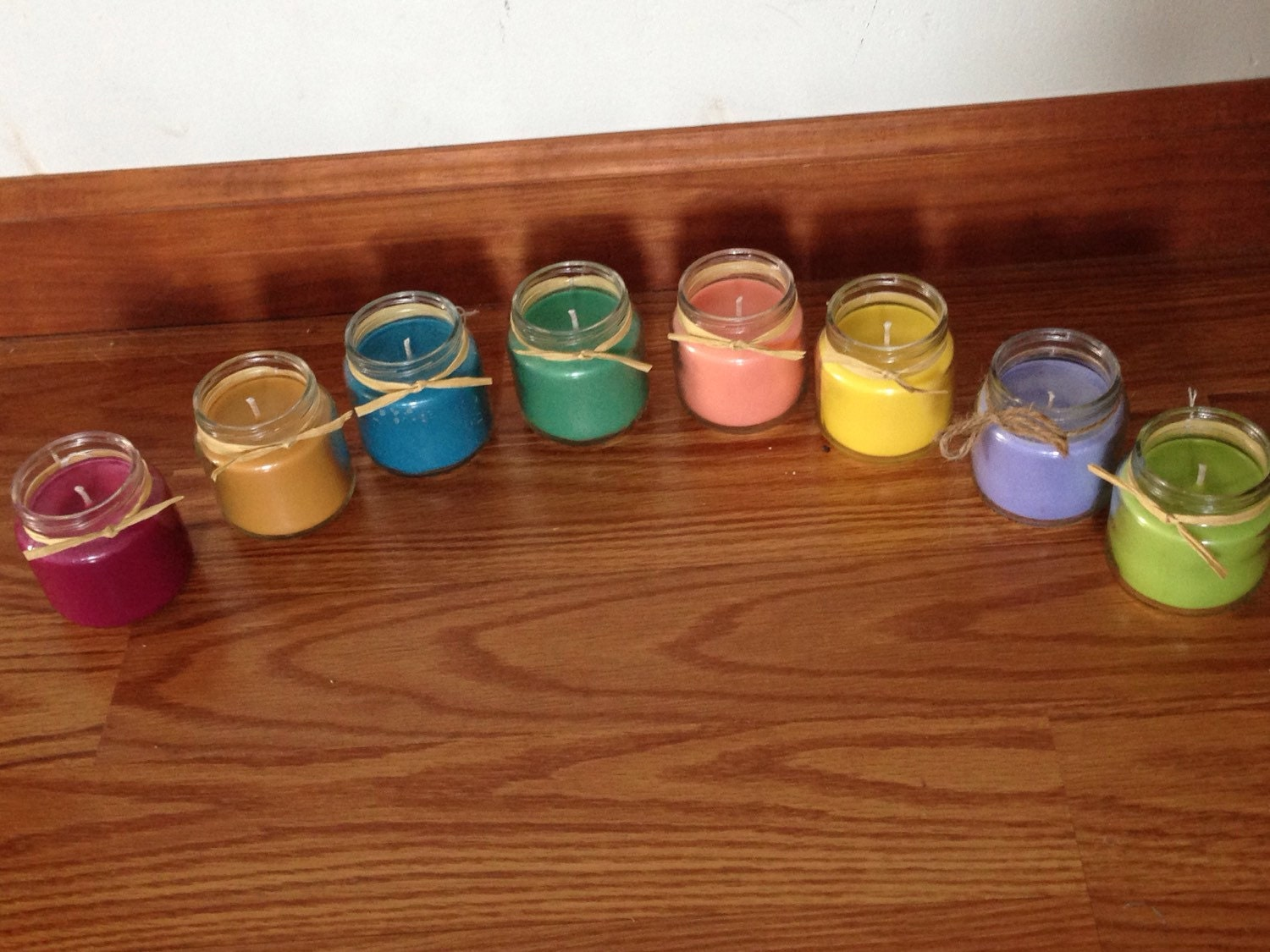 set of 10 tiny candles wholesale candles recycled jars. Black Bedroom Furniture Sets. Home Design Ideas