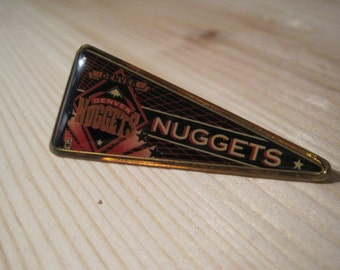 Vintage Denver Nuggets NBA Pennant Collectable Lapel/ Hat Pin