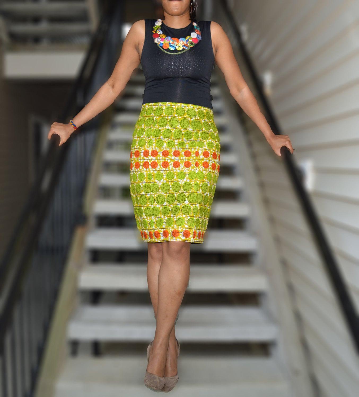 sheo ankara skirt pencil skirt print pencil skirt