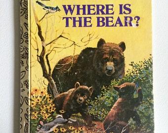 1978 A Little Golden Book - Where is the Bear?