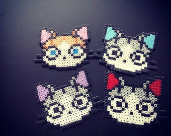 Little kitty necklace / keyrings