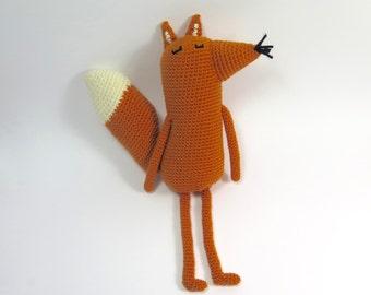 Felix the Fox Amigurumi Crochet DIGITAL PATTERN