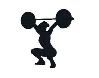 """BUY2GET1FREE - 2"""", 2.5"""", 3"""", 4"""", 5"""" Weightlifting Woman Machine Embroidery Design, Lifting Weights, Women, Body Builder"""