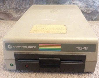 Commodore 1541 Floppy Disk Drive *Not Tested* for use with Commodore 64 and 128