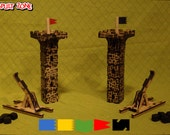 Catapult Zone Starter Set - 2 Catapults, 2 Towers
