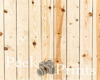 6ft.x6ft. Cedar Wood with Knots Vinyl Photography Backdrop FloorDrop