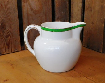Myott Kitchen Jug 1920s vintage pottery pitcher milk jug