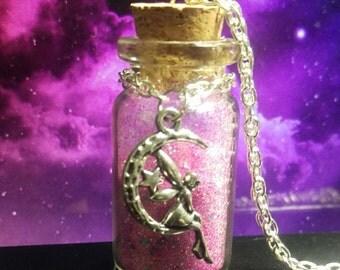 Fairy dust bottle charm
