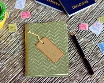 Dublin | Travel gift | Ireland journal | Pocket size travelers notebook | Vacation diary | Irish traveler | Ireland honeymoon | Gold