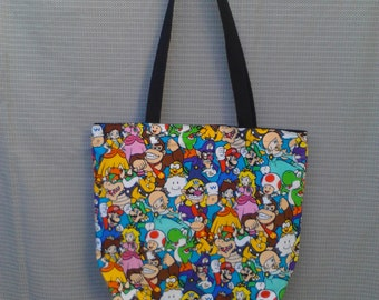 Super Mario and Friends Tote Bag