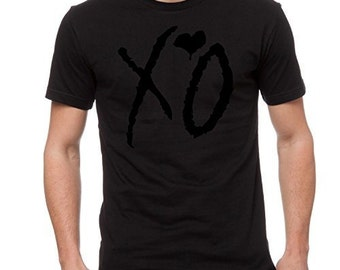 "The Weeknd ""XO"" Blackout Men's T-shirt"