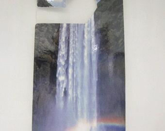 Waterfall  Do Not Disturb Door Hanger Sign