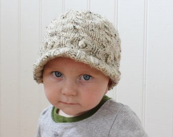 Newsboy Hat, Knit Newsboy Hat, Knit boys hat, Knit girls hat, Knit hat, girls hat, boys hat, newsboy cap.