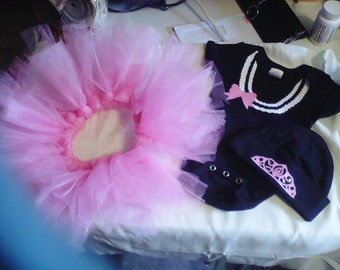 Princess onesie and tutu