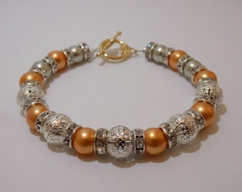 Orange Sherbert Bracelet