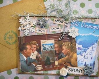 Snow Christmas Card,  White Christmas Movie Song,  Snow Snow Snow