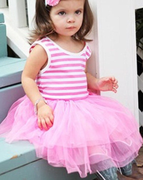 foto de Personalized Pink Tutu Dress 1st Birthday Tutu by