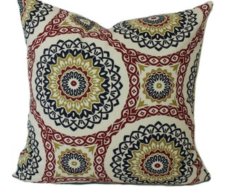 plaid pillow cover christmas pillow holiday pillow red
