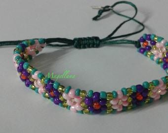 Flowers bracelet