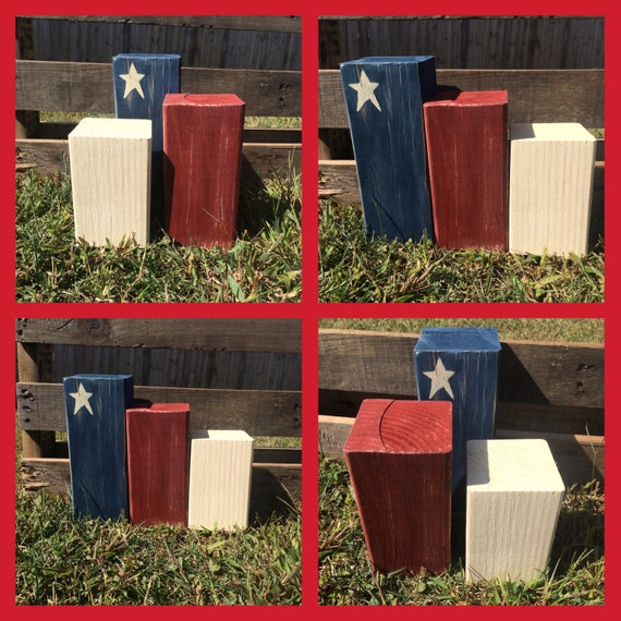 Fourth Of July Americana Home Decor Primitive By