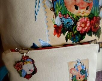 Honey Bunny clutch purse