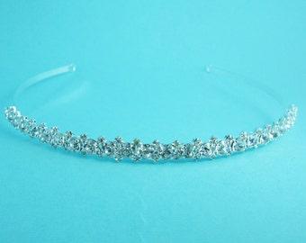 Crystal Bridal Headband, Crystal rhinestone wedding headband, bridal wedding hair accessories, wedding headpiece, bridal tiara 249936691
