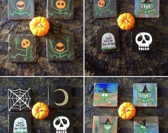 Shadowguy Halloween Potion Coasters