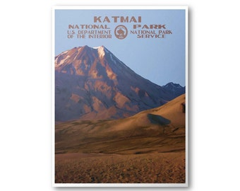 Katmai National Park Poster