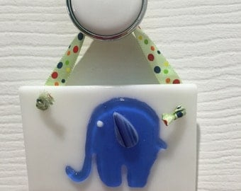 Fused Glass Ornament or Gift Tag