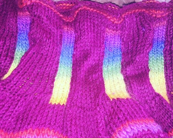 Carnivale Cowl--An Exclusive From BabyGirlKnits