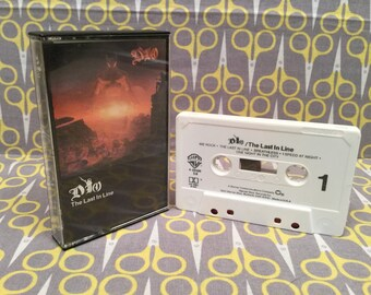 The Last in Line by Dio Vintage Cassette Tape rock