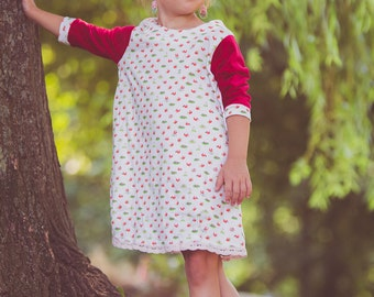 squirrel dress for girls size 5