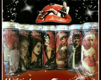 Rocky Horror prayer candles