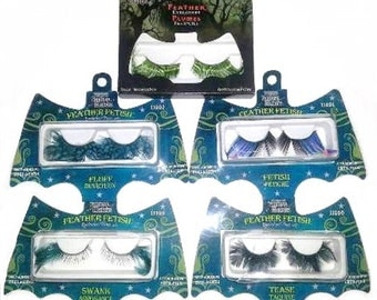 Halloween Cosplay Feather Eyelashes - Various Designs to Choose From