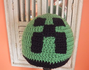 Creeper from Minecraft hat