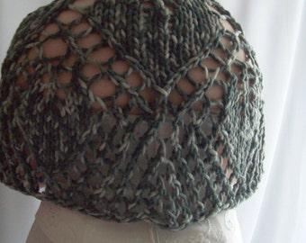 Grey Shawl, Knit Shawl, ChristmasInJuly, CIJ, Lace Shawl, Wedding shawl, Gift for Her, Gift for Mum, Bridal shawl, Bridal Cape, Wedding Cape