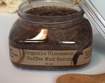 Organic Cinfully Coffee Body Scrub: all natural body scrub, natural body scrub, coffee sugar scrub, coffee body scrub, gifts for her