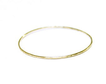 very very thin 10k solid gold ring