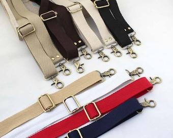 1 PCS 1.2 inch Wide Adjustable Cotton Strap for Backpack, Cotton Belt