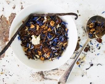 Herbal fruity tea / Herbal Vanilla Tea / Rooibos Tea Blend / Herbal Strawberry Tea /Herbal Vanilla Tea / NO. 047 / The Star of Evangeline