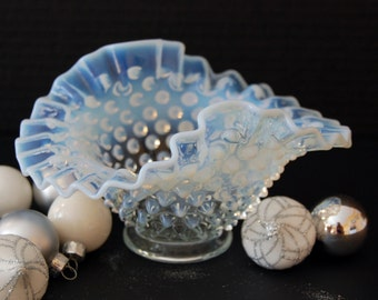 French Opalescent Bowl by Fenton