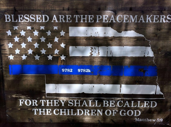 Your Home State Blessed Are The Peacemakers