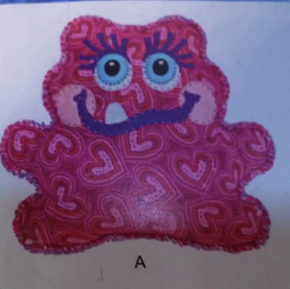 Cutie Monster Pillow