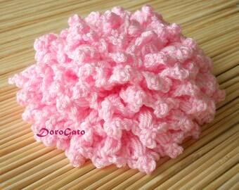 Easy crochet flower pattern, crochet brooch pattern, rose Tutorial, step by step pattern, flower pattern, DIY, Instant Download /5024/